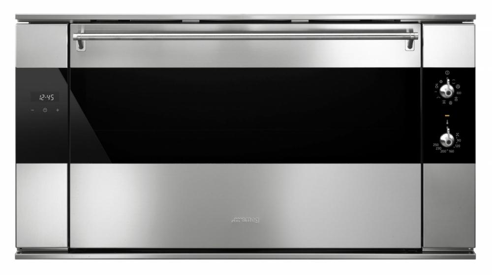 cuptor incorporabil electric smeg classica sf9315xr 90 cm 10 functii vapor clean pentru acasa. Black Bedroom Furniture Sets. Home Design Ideas